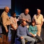 Praying over the new national director
