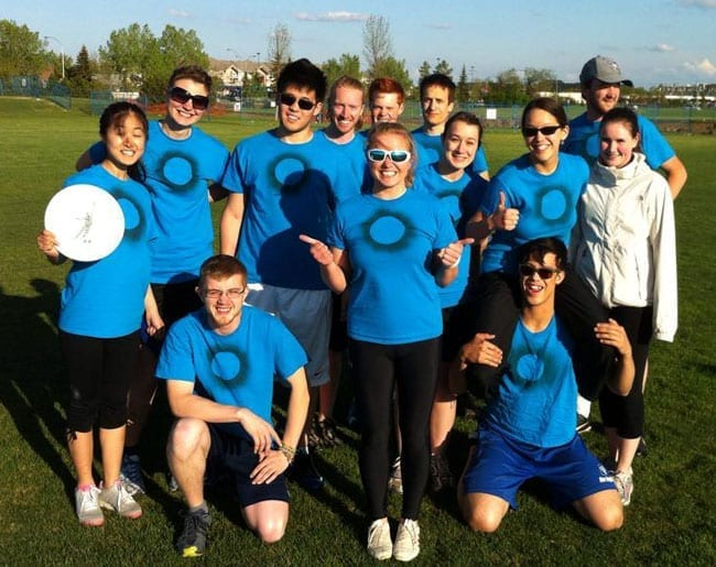 Forming and Forging Friendships with Frisbee